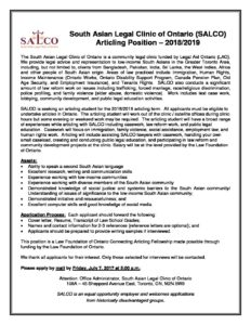 in place articling positions